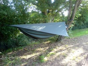 hammock with fly