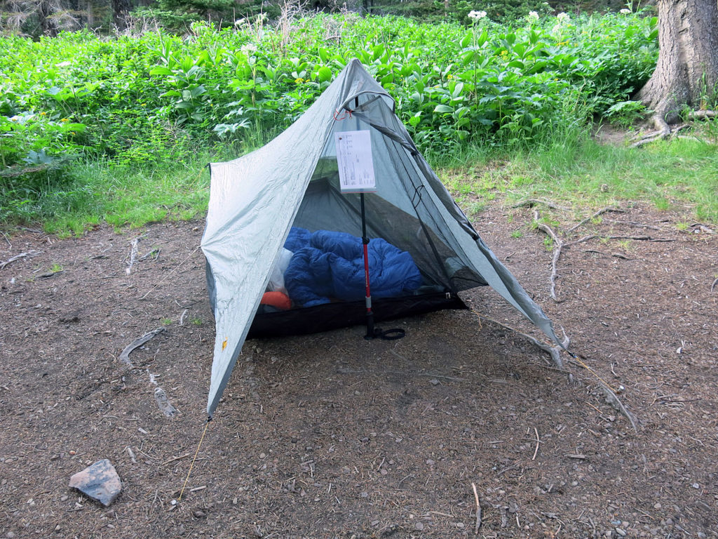 non-freestanding-tent & The Best Ultralight Tents: A Buying Guide and Ultralight Tent ...