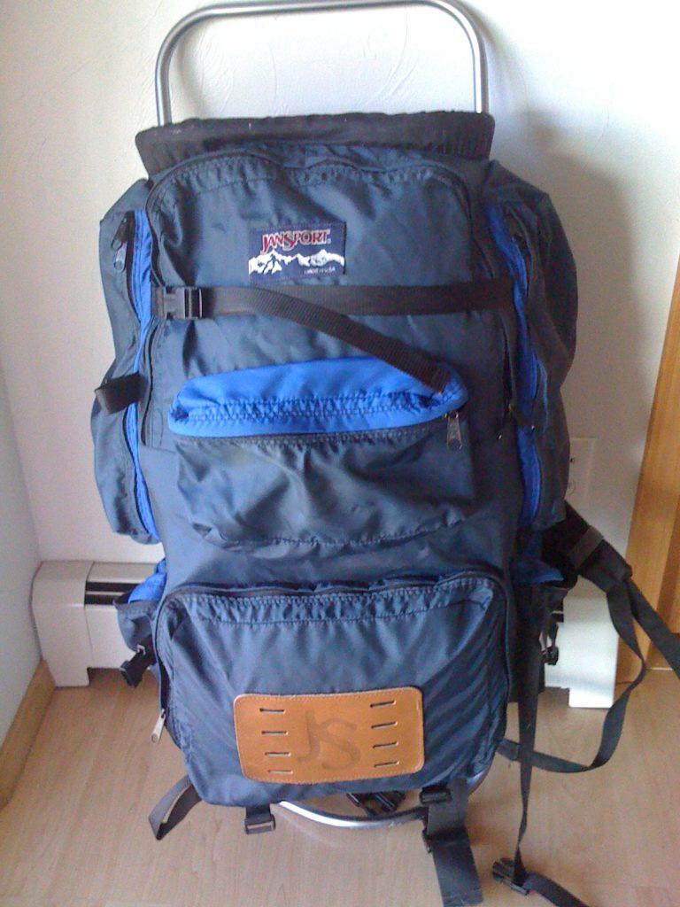 external frame backpack
